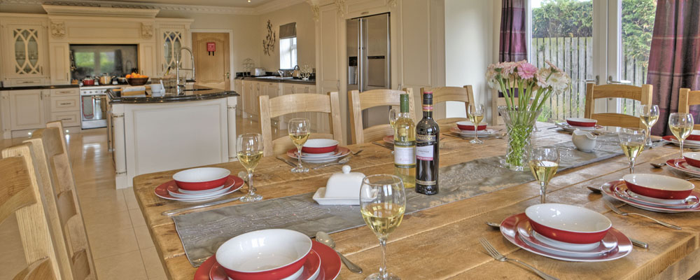 Luxury Northumberland self catering holiday cottage, Cresswell, sleeps 12